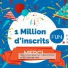 FUN fête ses 1 million d'inscrits !