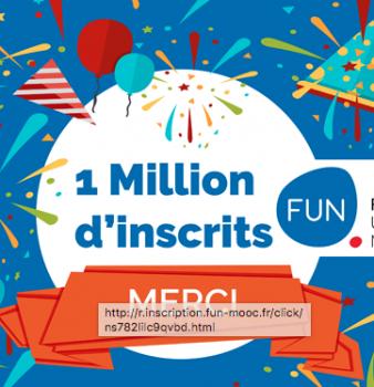 FUN fête ses 1 million d'inscrits !