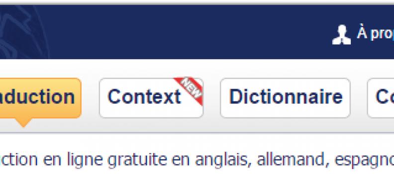 Reverso. Plus qu'un traducteur en ligne!
