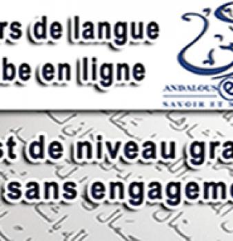 Andalous E-learning pour apprendre la langue arabe